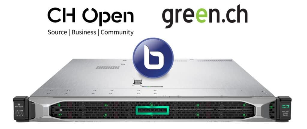 BBB-Server von CH Open und green